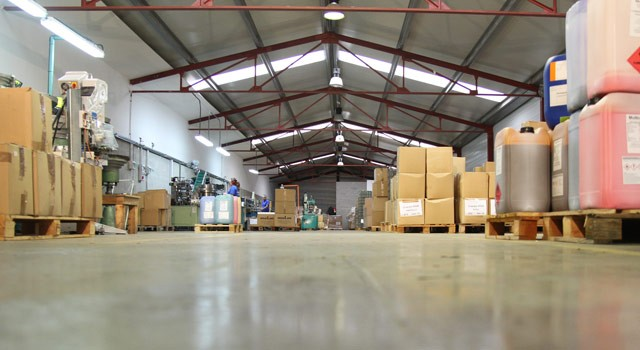 instalaciones de la empresa
