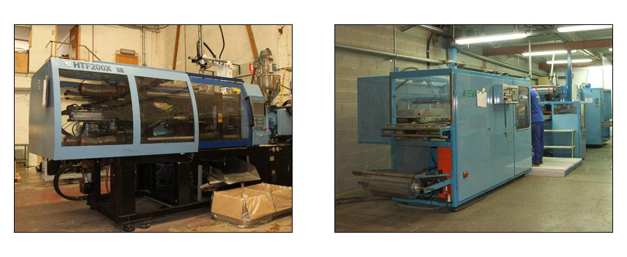 Instalaciones y maquinaria de Estilográfica