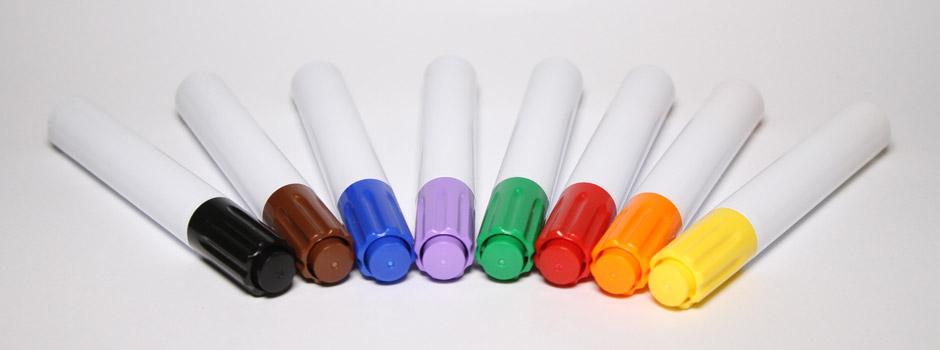Marcador para pizarra, varios colores